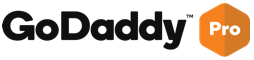 An image of the GoDaddy Pro logo - if clicked, will take you to the GoDaddy Pro website