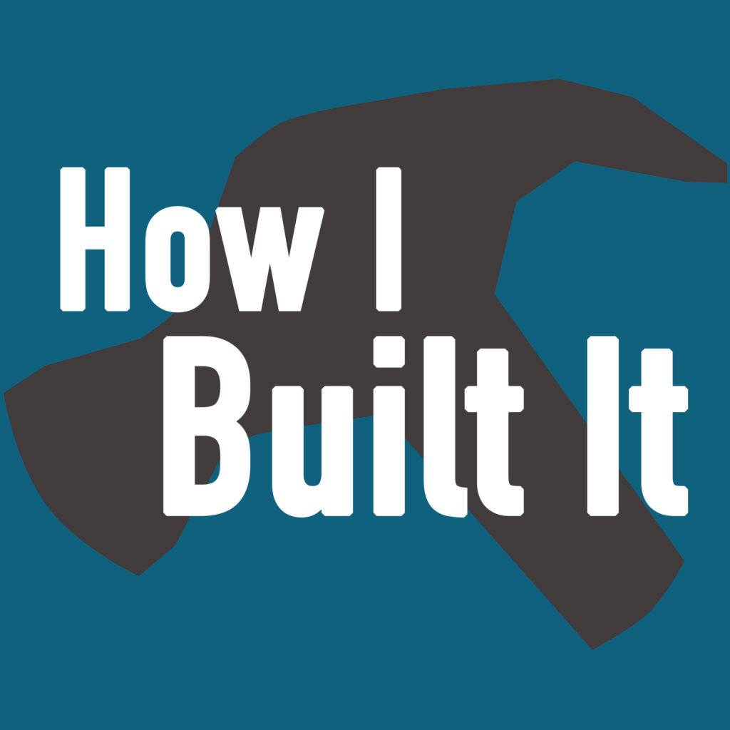 An image of the How I Built It logo